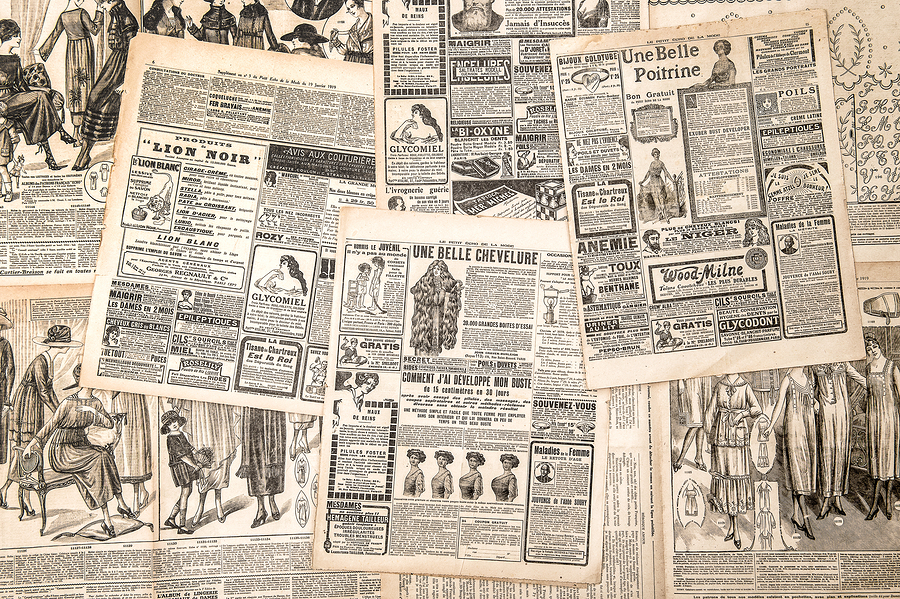 Newspaper Pages
